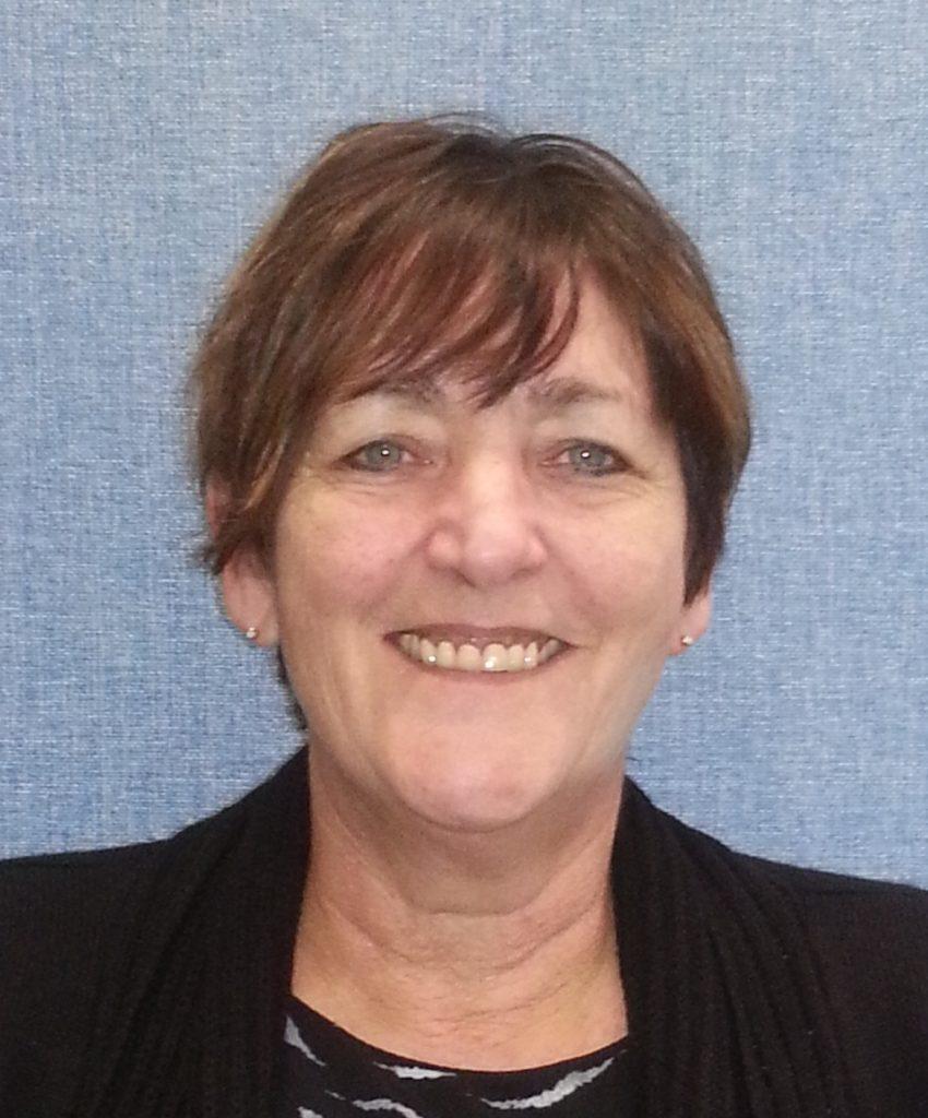 Picture of Cathie Poynton branch secretary 2017